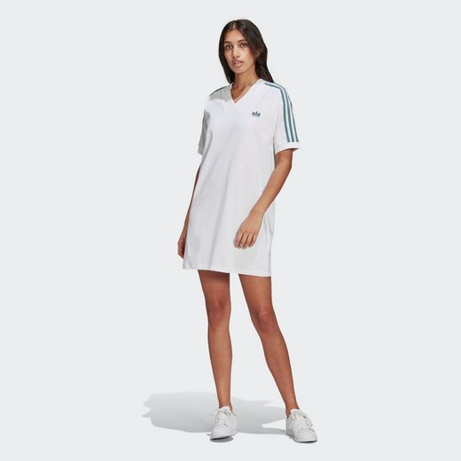 adidas Originals Shirtkleid »adicolor 3D Trefoil T-Shirt-Kleid«