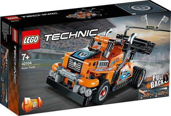 LEGO® Konstruktions-Spielset »LEGO® 42104 Technic: Renn-Truck«
