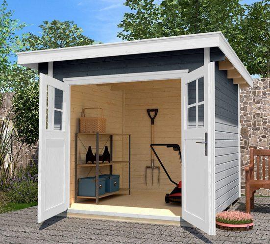 WEKA Gartenhaus »179 Gr.1«, BxT: 280x284 cm, inkl. Fußboden