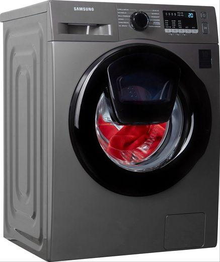 Samsung Waschmaschine WW4500T INOX WW7ET4543AX/EG, 7 kg, 1400 U/min, AddWash