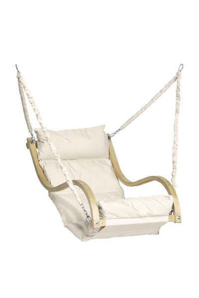 Amazonas Hängematte »Fat Chair Hängesessel creme ca. 64,5 x 111 x 19 cm«