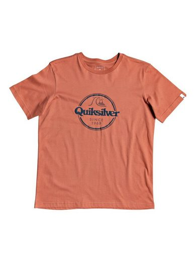 Quiksilver T-Shirt »Words Remain«