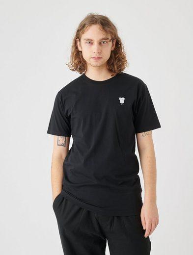 Cleptomanicx T-Shirt »Toast« Toast-Stickerei auf der Brust