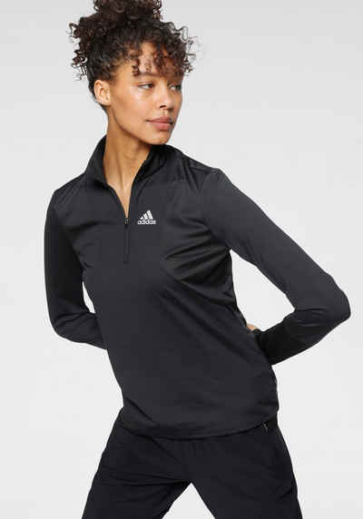 adidas Performance Laufshirt »ADIDAS OWN THE RUN 1/2 ZIP WOMEN«