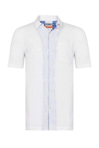 GABANO Leinenhemd »Kurzarm Leinenhemd aus 100% Leinen« Kurzarmhemd in purem Leinen