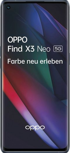 Oppo Find X3 Neo 5G Smartphone (16,64 cm/6,55 Zoll, 256 GB Speicherplatz, 50 MP Kamera)