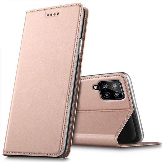 CoolGadget Handyhülle »Magnet Case Handy Tasche« für Samsung Galaxy A12 / M12 6,5 Zoll, Hülle Klapphülle Slim Flip Cover für Samsung A12 Schutzhülle