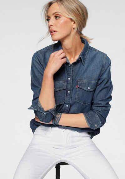 Levi's® Jeansbluse »ESSENTIAL WESTERN« mit Brusttaschen mit Druckknöpfen