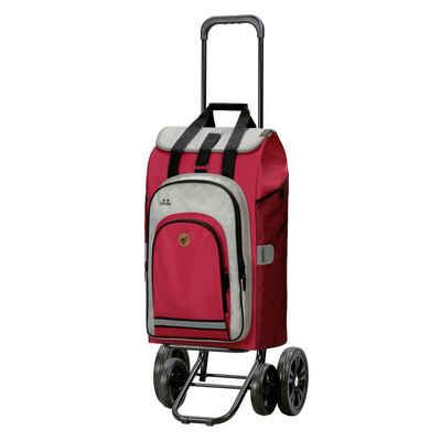Andersen Einkaufstrolley »Quattro Shopper«, 62 l, mit Tasche Hydro 2.0 rot