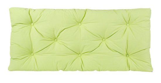 BioKinder - Das gesunde Kinderzimmer Sitzkissen, Sitzkissen 120x55 cm Grün