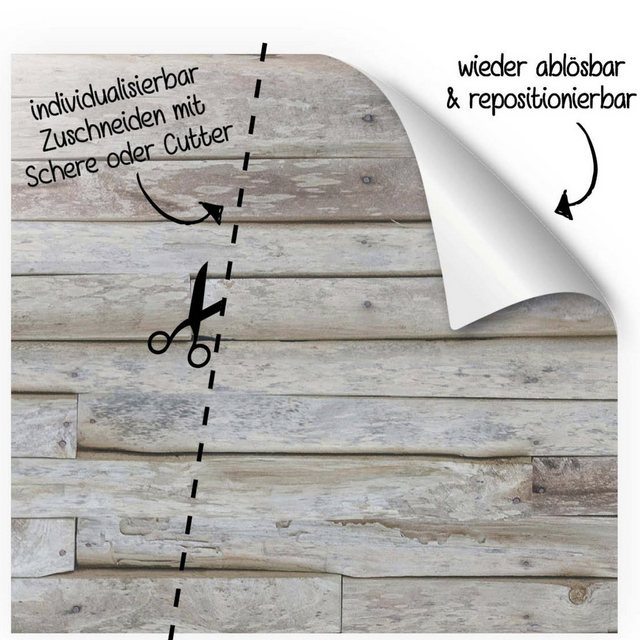 MySpotti Spritzschutz »fresh F1 Holz«, 100 x 255 cm günstig online kaufen