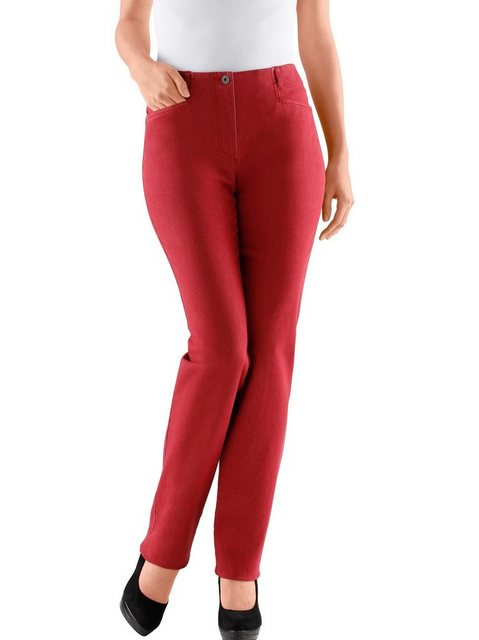 Hosen - Cosma Dehnbund Jeans › rot  - Onlineshop OTTO