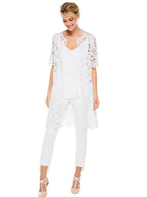 Hosen - creation L 3 4 Jeans › weiß  - Onlineshop OTTO