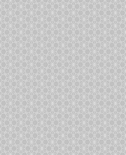 WOW Vliestapete »Mini Design«, geometrisch, (1 St), Grau - 10m x 52cm