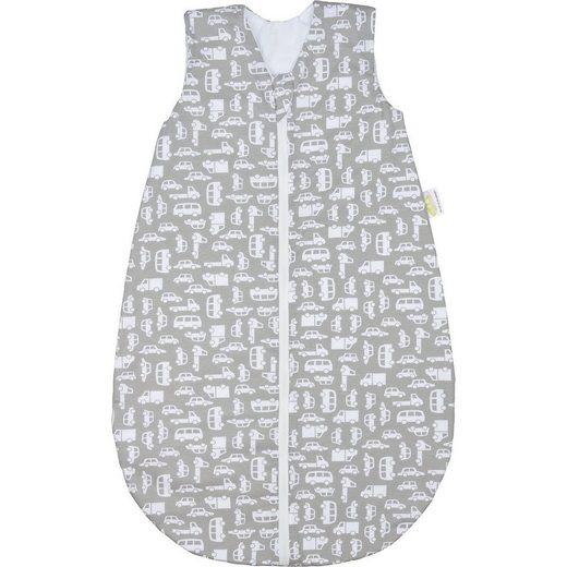 Odenwälder Babyschlafsack »Jersey-Sommerschlafsack, little stars grey«
