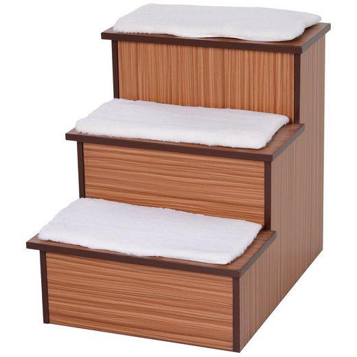 PawHut Haustiertreppe »Haustiertreppe mit Aufbewahrungsbox«