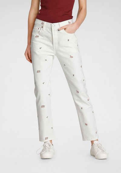 Levi's® Straight-Jeans »501 Crop« High Waist im Cropped Style