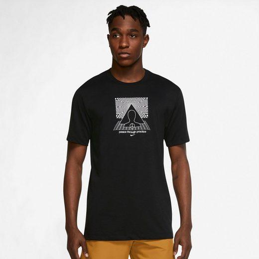 Nike Yogashirt »YOGA DRI-FIT MENS GRAPHIC T-SHIRT«