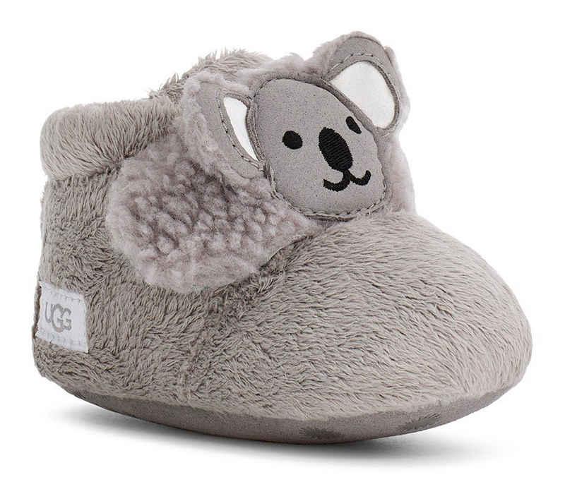 UGG »Bixbee Koala Stuffie« Krabbelschuh mit Klettverschluss