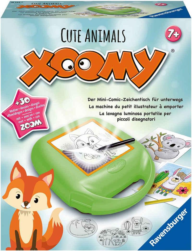 Ravensburger Malvorlage »Xoomy® Midi Cute Animals«, FSC® - schützt Wald - weltweit; Made in Europe