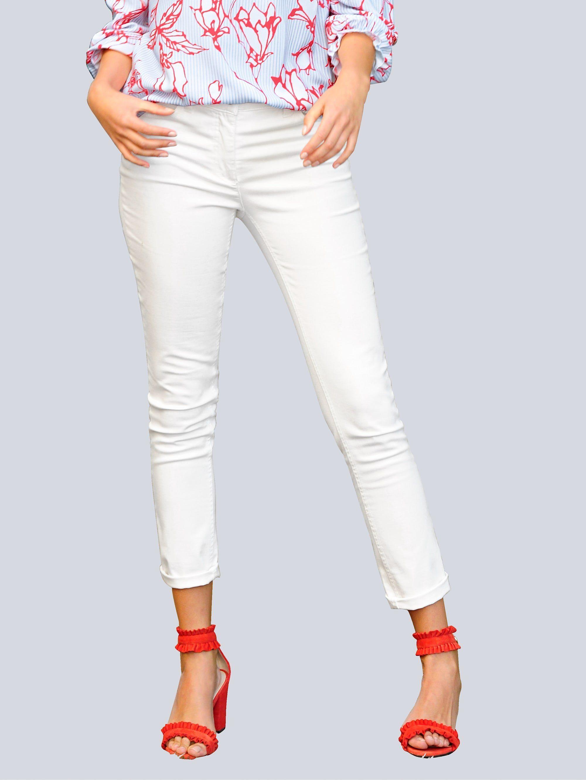 Alba Moda Jeans mit Push up Funktion, Figurgünstige Schnittführung online kaufen | OTTO