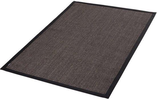 Sisalteppich »Mara S2 mit Bordüre, Wunschmaß«, Dekowe, rechteckig, Höhe 5 mm, Flachgewebe, Obermaterial: 100% Sisal, Wohnzimmer