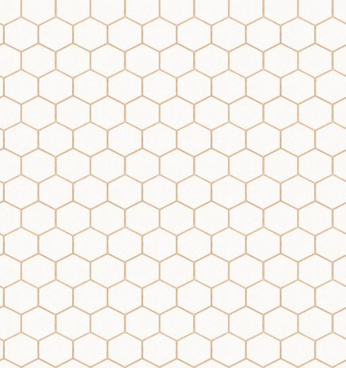 WOW Vliestapete »Hexagon«, 52cm x 10m