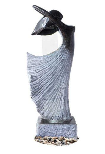 Kiom Dekoobjekt »Gartenbrunnen FoBallerina A mit Led 115cm«