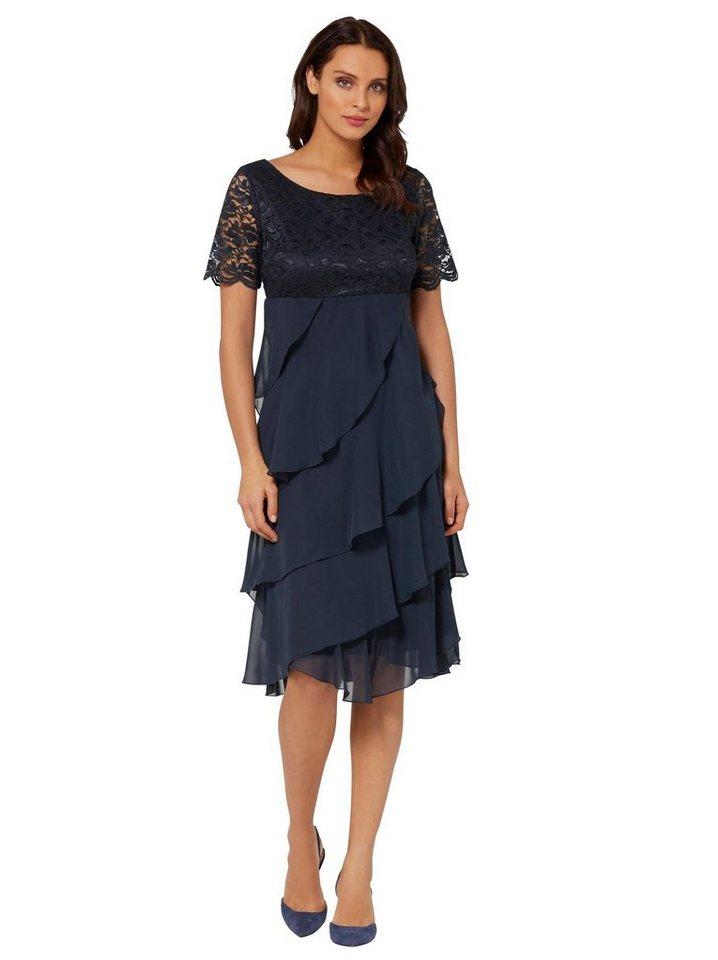 Festtagsmode - Lady Spitzenkleid »Kleid« › blau  - Onlineshop OTTO