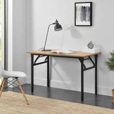 neu.haus Klapptisch, »Alta« Schreibtisch höhenverstellbar 120x60 cm in verschiedenen Farben