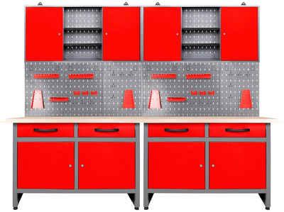 ONDIS24 Werkstatt-Set, (Set), 240 cm