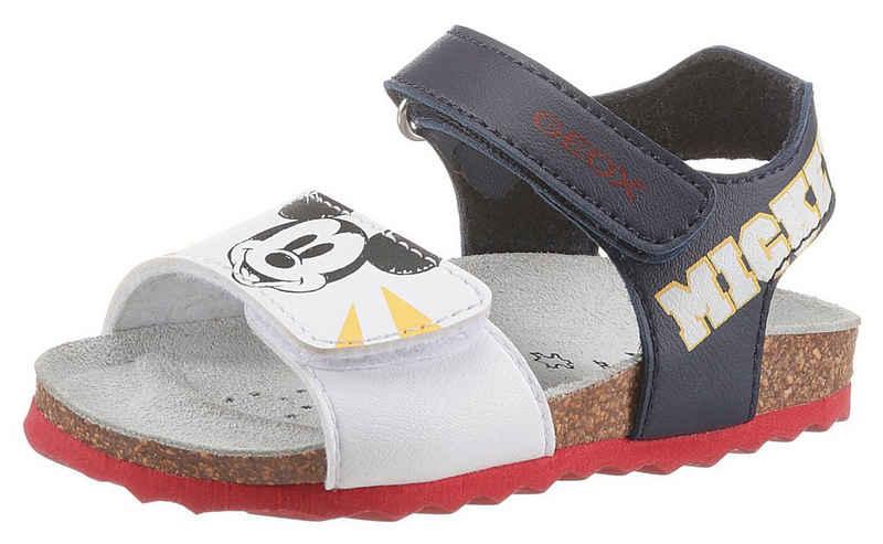 Geox Kids »B SANDAL CHALKI GIRL« Sandale mit Klettverschluss