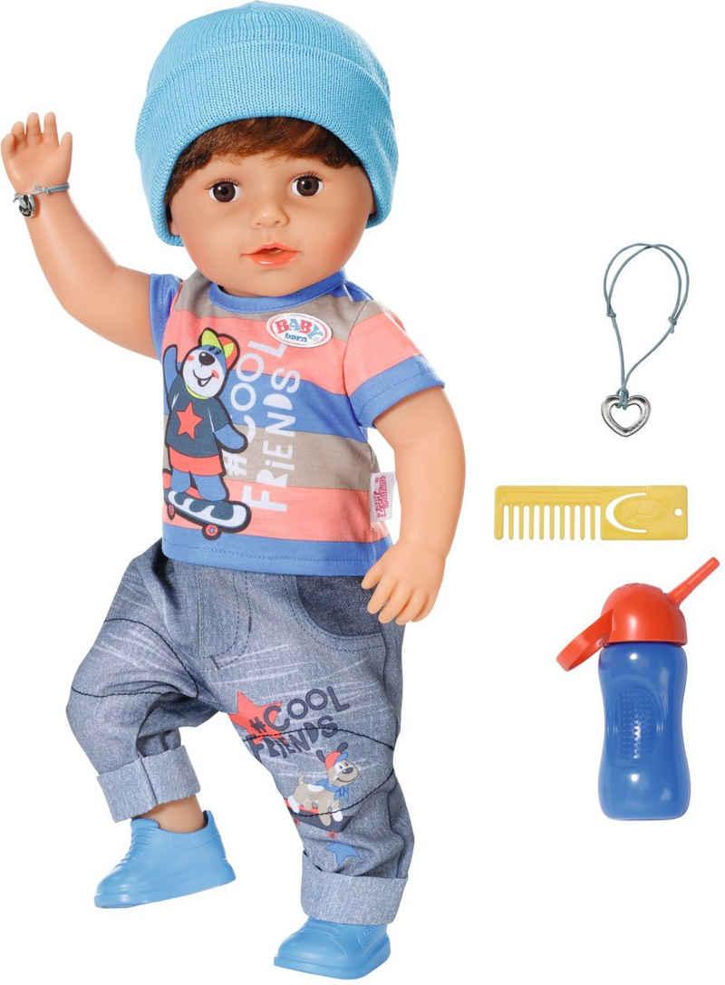 Baby Born Stehpuppe »Brother, 43 cm«, mit lebensechten Funktionen