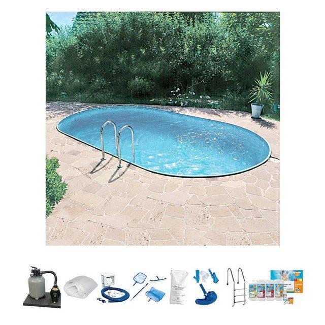 Clear Pool Set: Ovalpool (10-tlg.)