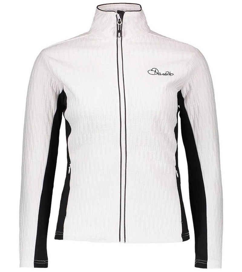 Dare2b Outdoorjacke »DARE 2b Elicit Core Sweat-Jacke gemütliche Damen Pullover-Jacke Freizeit-Jacke Weiß/Schwarz«