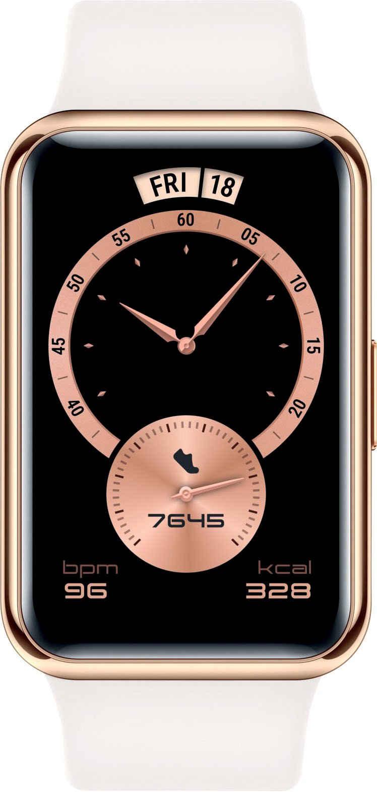 Huawei WATCH FIT Elegant Edition Smartwatch (4,17 cm/1,64 Zoll, Proprietär), 24 Monate Herstellergarantie