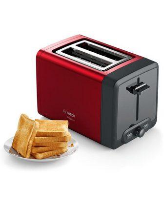 BOSCH Toaster TAT4P424 DesignLine 2 kurze Sc...