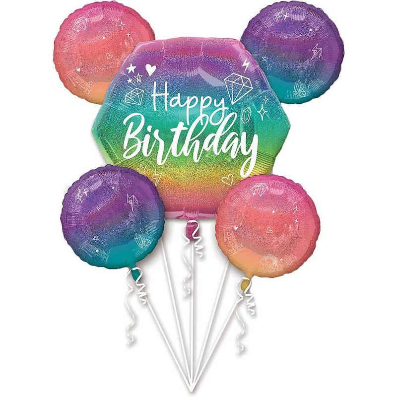 Amscan Folienballon »Folienballon Bouquet Sparkle«