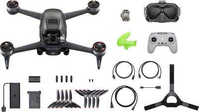 dji »FPV Combo« Drohne (4K Ultra HD, First-Person View Drohne Flycam Quadrocopter UAV, OcuSync 3.0 HD-Übertragung, 4K-Video, Superweites 150 ° FOV, Beeindruckendes Flugerlebnis)