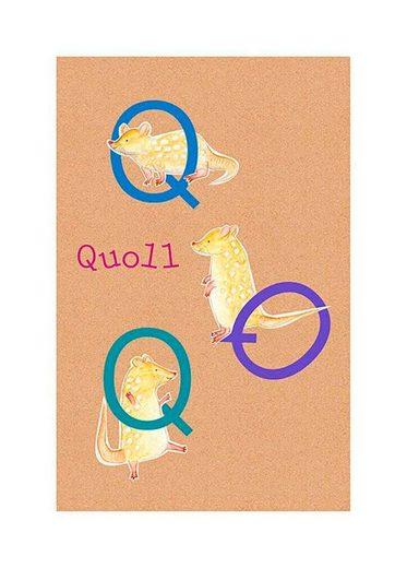 KOMAR XXL Poster »ABC Animal Q«