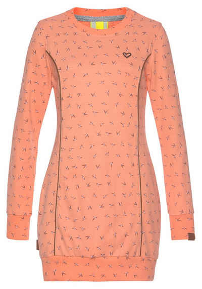 Alife & Kickin Sweatshirt »DarliAK« Longsweater mit Rundhalsauschnitt und breiten Bünchen