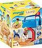 Playmobil® Konstruktions-Spielset »Kreativset Sandburg (70340), Playmobil 123 - Sand«, Made in Europe, Bild 1