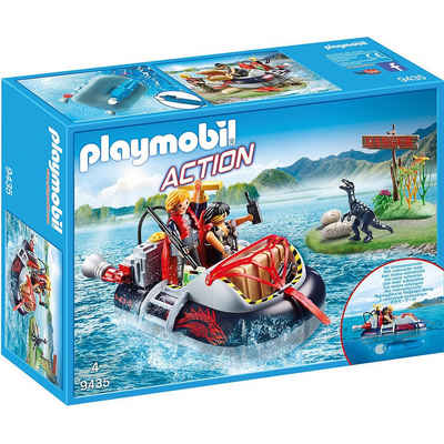 Playmobil® Spielfigur »PLAYMOBIL® 9435 Luftkissenboot mit«