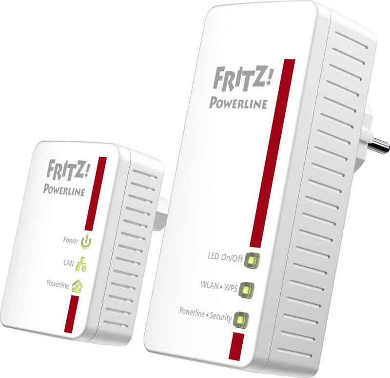 AVM »Fritz!Powerline 540E WLAN Set 5« Netzwerk-Adapter F-Stecker