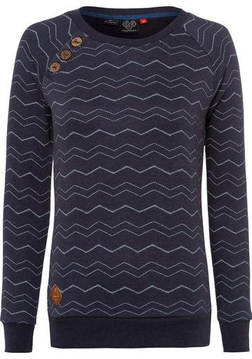 Ragwear Sweater »DARIA CHEVRON« im Ragwear typischen Zig Zag- Allover-Design