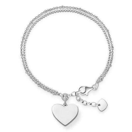 THOMAS SABO Armband »LBA0102-001-12 Armband Herz 16,0 - 19,5 cm«