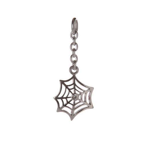 Kingka Charm-Einhänger »Anhänger Spinnenetz«