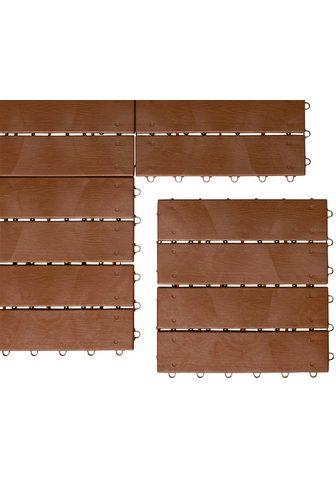 UPP Terrassenplatten »Optik Holzdiele« 30x...