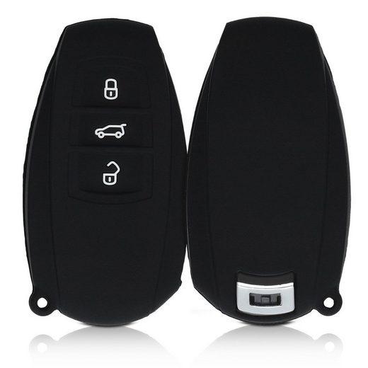 kwmobile Etui, Autoschlüssel Hülle für VW - Silikon Schutzhülle Schlüsselhülle Cover für VW 3-Tasten SmartKey Autoschlüssel (nur Keyless Go)