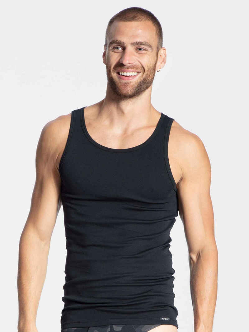 Skiny Unterhemd »Tank-Top, 2er-Pack« (2 Stück)
